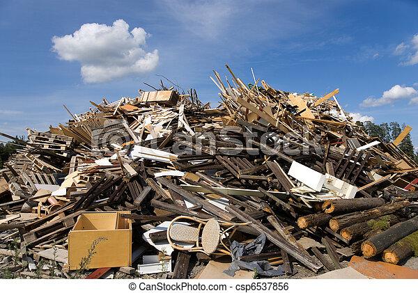 garbage heap - csp6537856