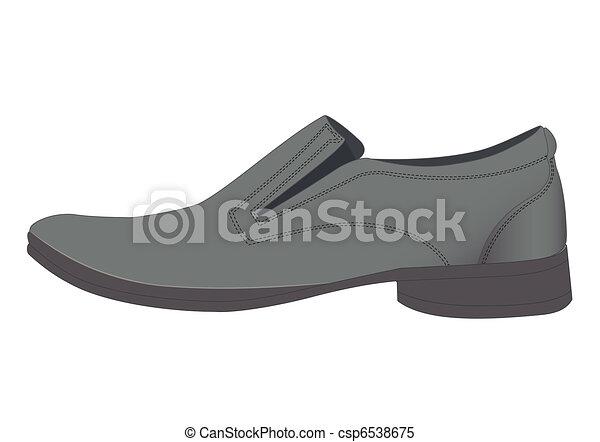 Man's shoes - csp6538675