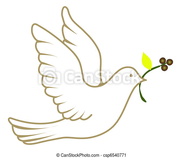 Peace Dove - csp6540771