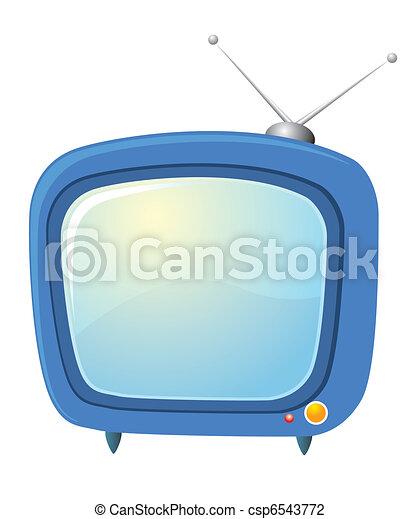 Retro television - csp6543772