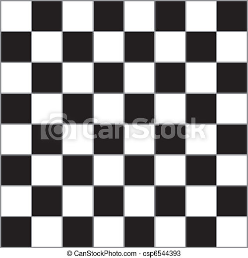 Chessboard with Gray dividers - csp6544393