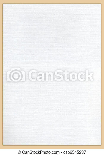 White fabric textile texture to background - csp6545237