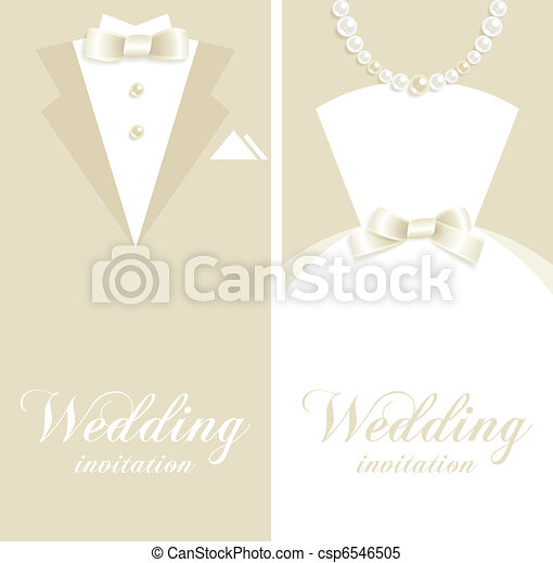 Wedding invitation - csp6546505