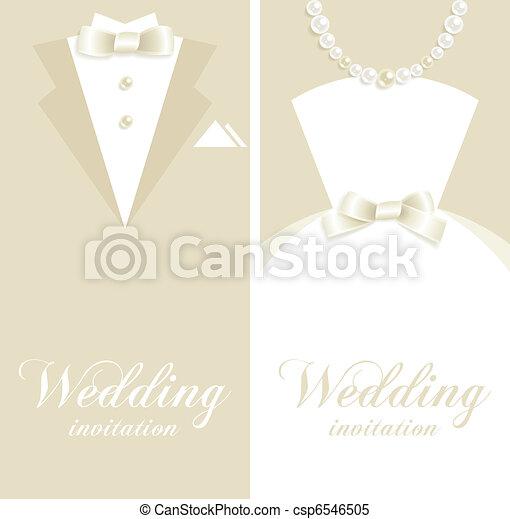 Wedding invitation - csp6546505