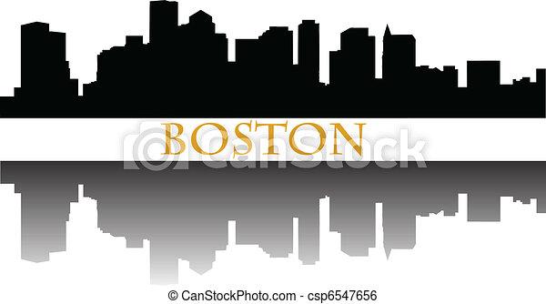 Boston skyline - csp6547656