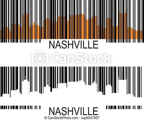 Nashville barcode - csp6547657