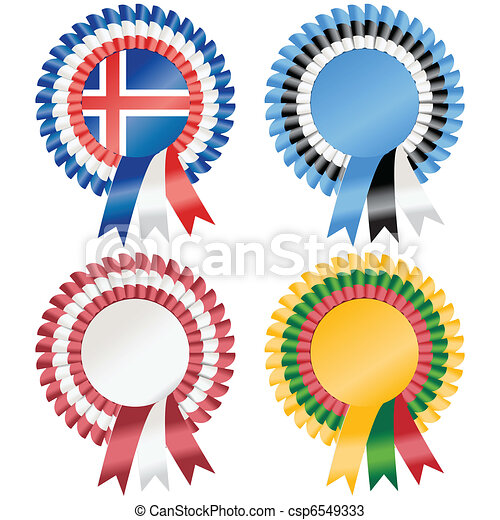 Northern Europe Rosettes - csp6549333
