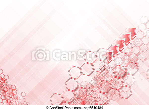 Hi-tech abstract backdrop - csp6549484
