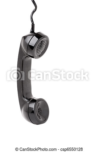 Old Phone Handset Hanging - csp6550128