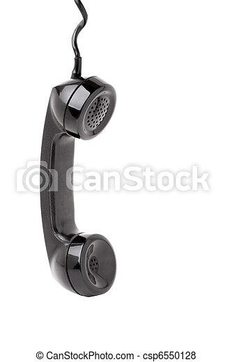 Old Phone Handset Hanging - csp6550128