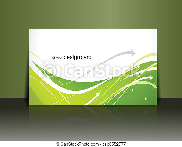 Gift card design - csp6552777