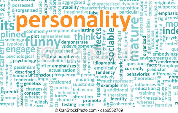 Personality - csp6552789