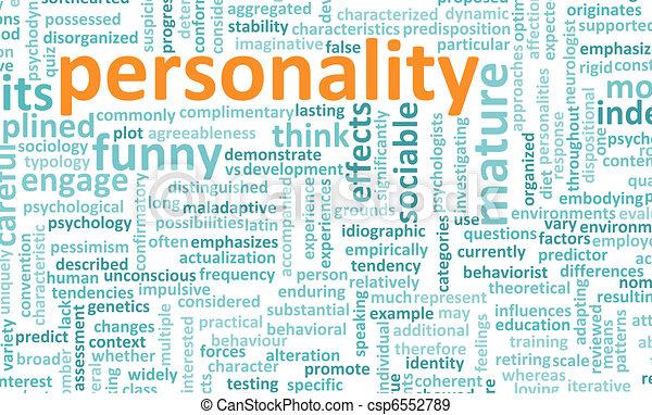 Personality - csp6552789