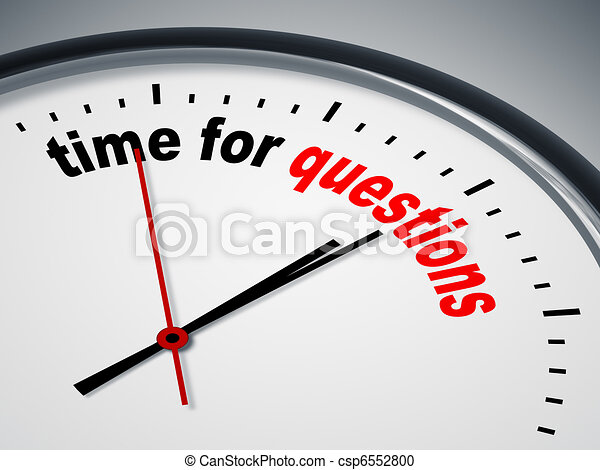 time for questions - csp6552800