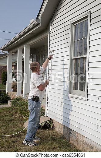 Spray Painting - csp6554061
