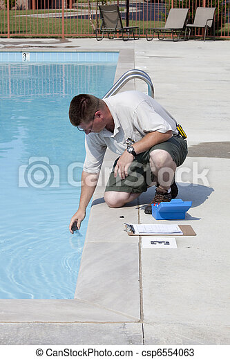 Active Pool  Chemical Testing - csp6554063