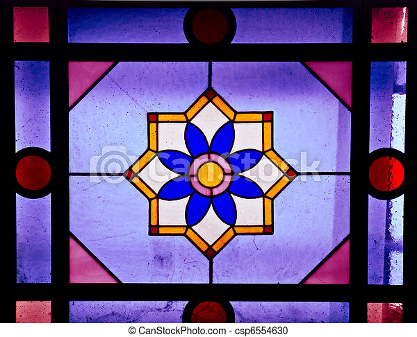 Stained glass - csp6554630