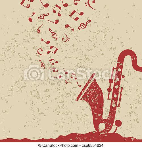 Saxophone - csp6554834