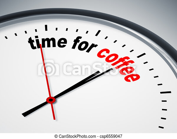 time for coffee - csp6559047