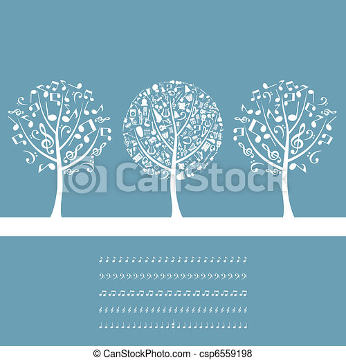 Musical tree2 - csp6559198
