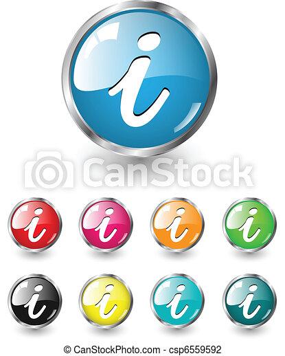Info icons, vector set - csp6559592