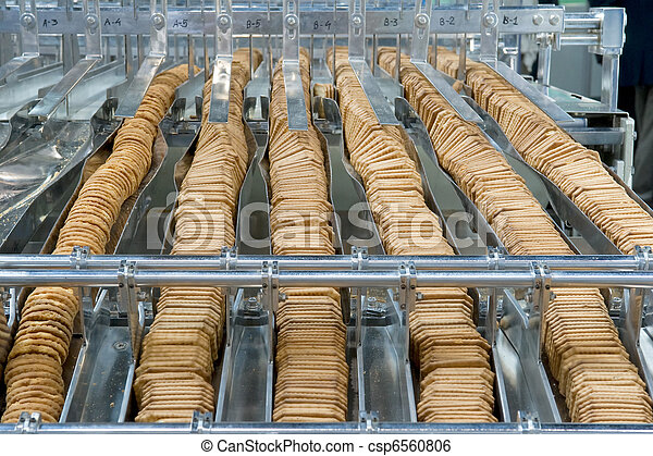 Production of biscuits - csp6560806