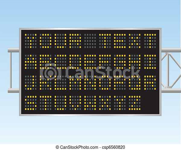 Electronic Billboard - csp6560820