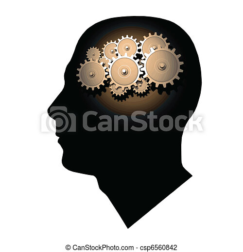 Brain Gears - csp6560842