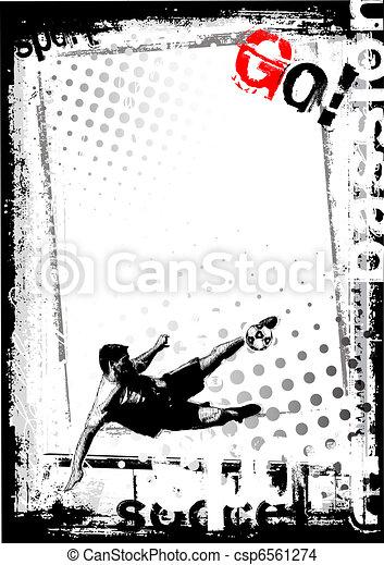 soccer poster - csp6561274
