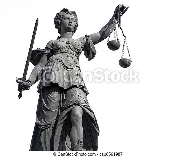 Lady Justice - csp6561987