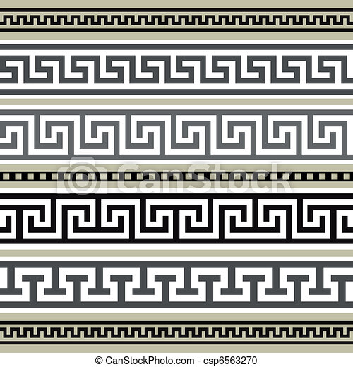 Vector - Set of ...Versace Pattern