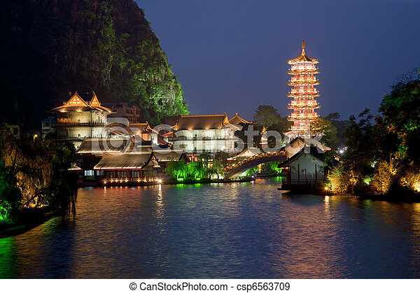 Guilin China - csp6563709