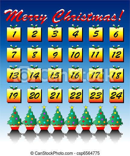 Advent calendar - csp6564775