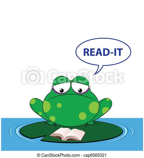 sound a frog makes - csp6565021