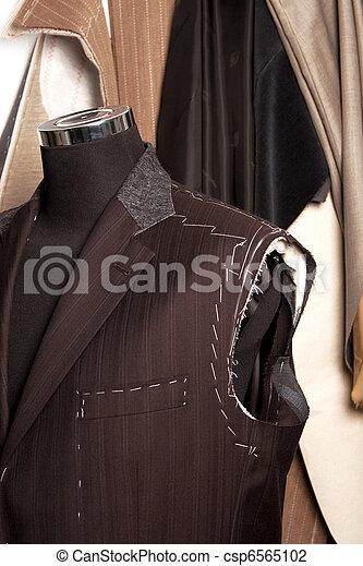 Tailors mannequin a Work in progres - csp6565102