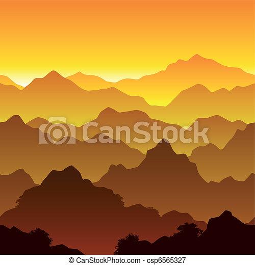 Mountains - csp6565327