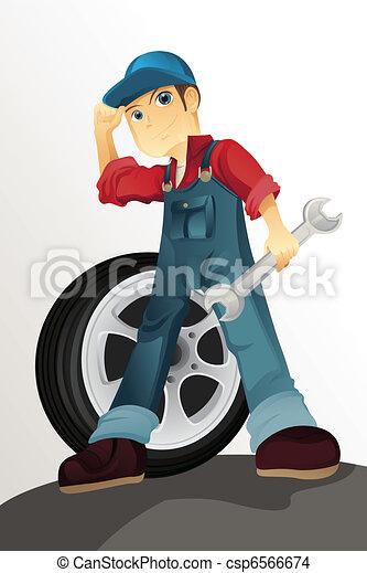 Auto mechanic - csp6566674