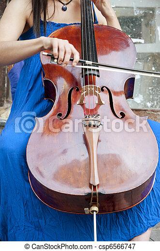 Street Musician - csp6566747