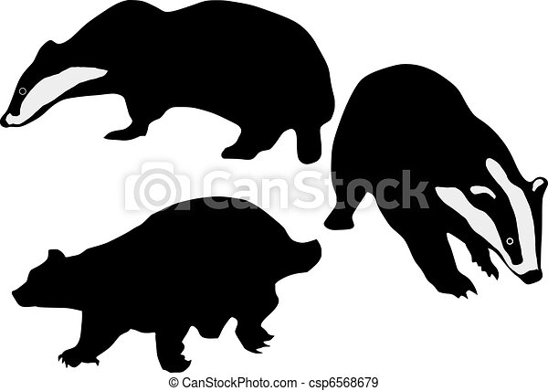 Badger Clip Art and Stock Illustrations. 536,224 Badger EPS ...