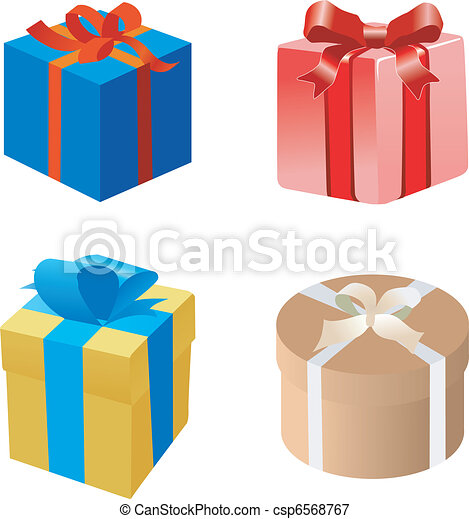 Set of gift boxes - csp6568767