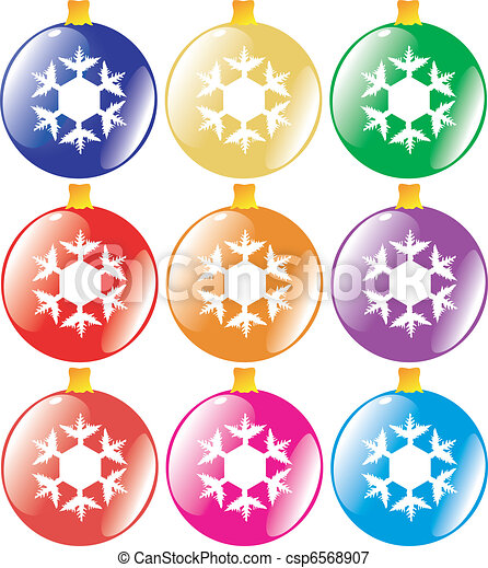 Christmas tree decoration - csp6568907