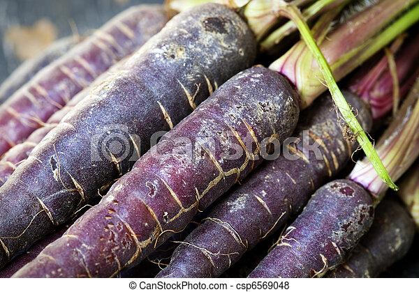 Purple Carrots - csp6569048