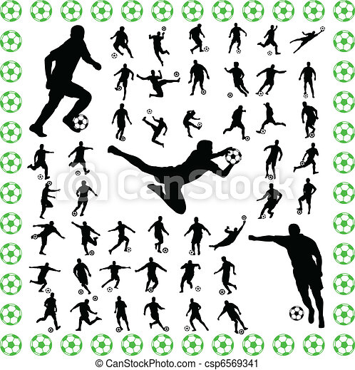 soccer players - csp6569341
