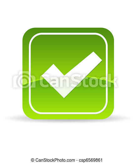 Green Check Mark Icon - csp6569861
