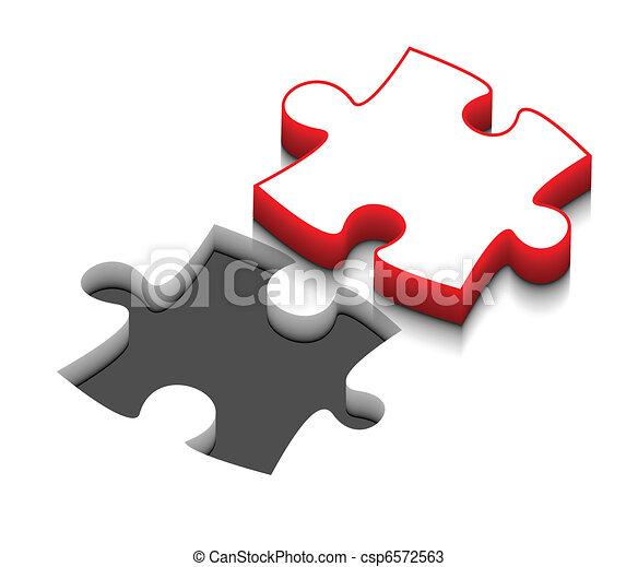 Vettori di puzzle vettore disegno 3d vettore puzzle for Disegno 3d free