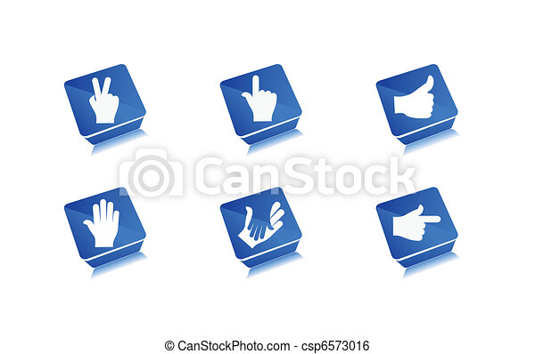 human hands icon - csp6573016