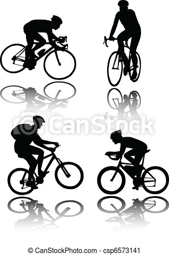 Bicyclists - csp6573141