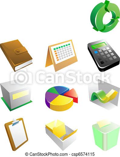 ecommerce icons - csp6574115