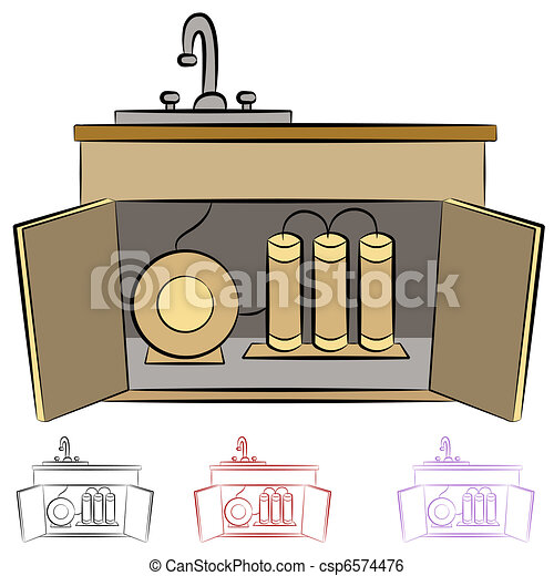 Kitchen Sink Water Filtration System - csp6574476