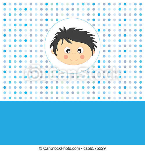 Face boy - csp6575229